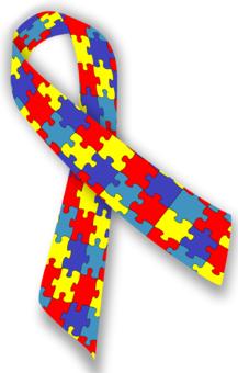 logo ruban autisme