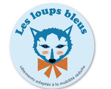 Les loups bleus vêtements adaptés à la mobilité réduite