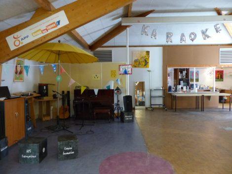 locaux APF karaoké