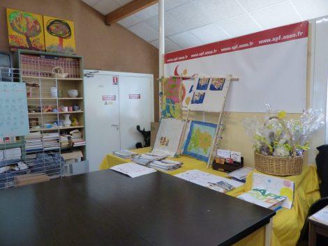 locaux APF ateliers peinture
